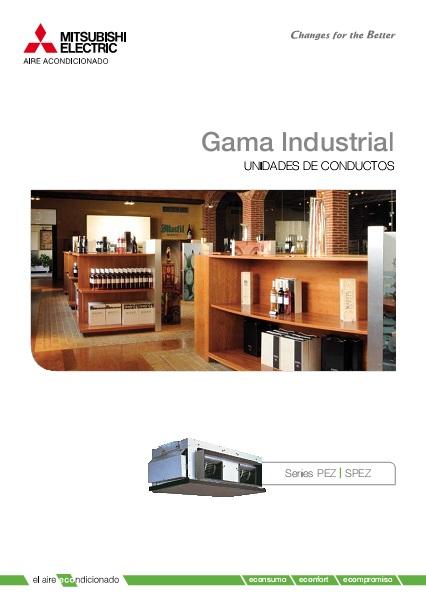 Catalogo comercial  Mitsubishi  Conductos Gama Industrial