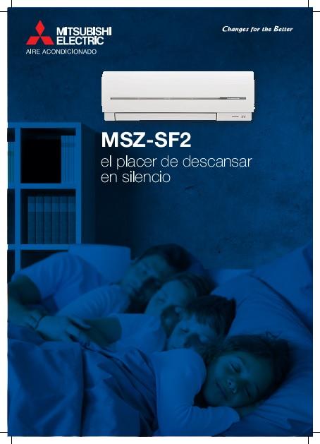 Catalogo comercial  Mitsubishi  Splt Serie MSZ-SF