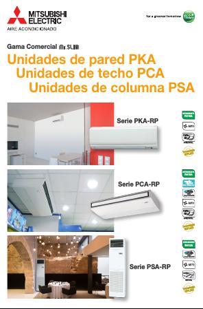 Catalogo comercial  Mitsubishi  Splt Serie PKZS - Power Inverter