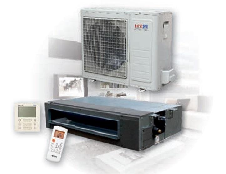 Conjunto de aire acondicionado conductos HTW IX40