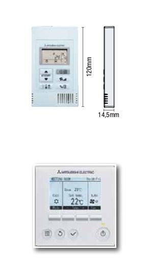 Control remoto Conducto Mitsubishi GPEZS Serie PRO