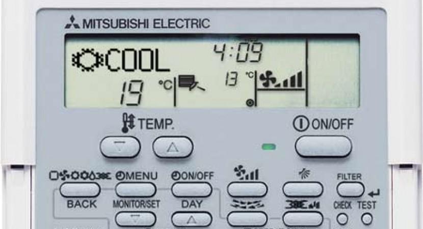 Control remoto Conducto Mitsubishi Gama Industrial