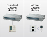 Control remoto variable - Conductos Haier