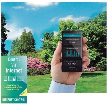 Control via internet Cassette Panasonic PACi STANDARD