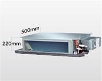 Diseño ultrafino - Conductos Haier