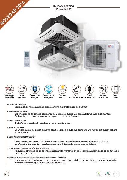 Ficha Tecnica Cassette HTW C6 L01