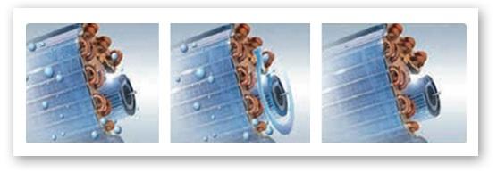 la función X-Fan del Aire Acondicionado Split Daitsu ASD9UI-BG