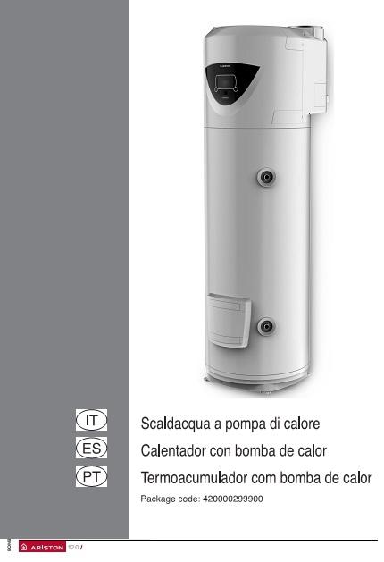Bomba de calor para ACS Ariston NUOS PLUS - Manual