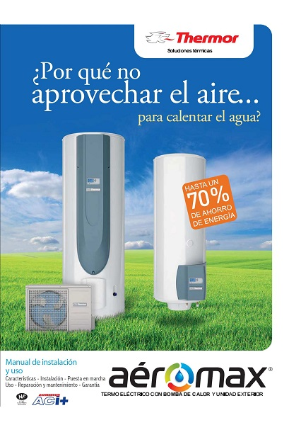 Catalogo Bomba de calor Thermor Aeromax