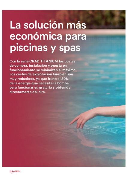 Catalogo comercial Bomba de calor para piscinas CRAD Daitsu