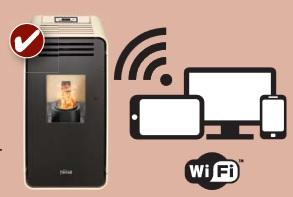 Accesorio WI-FI para estufas termoestufas Ferroli