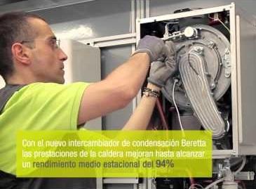 Caldera Beretta MYNUTE GREEN E - Instalacion