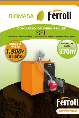 Caldera Ferroli SFL - Ficha comercial