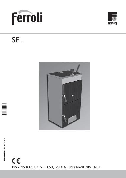 Caldera Ferroli SFL - Manual de instruccioes