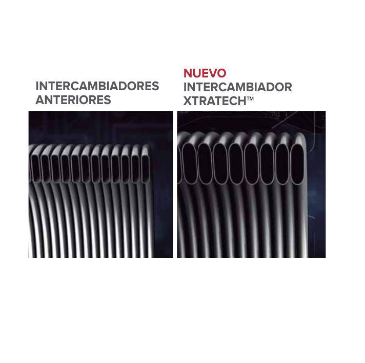 Caldera a gas de condensación Ariston ALTEAS ONE NET - Intercambiador XTRATECH