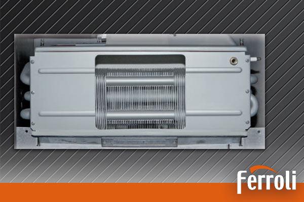 Caldera a gas de condensación Frroli ECONCEPT 51 A - Intercambiador