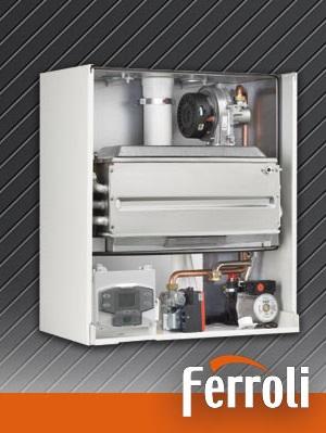 Caldera a gas de condensación Frroli ECONCEPT 51 A - Interior