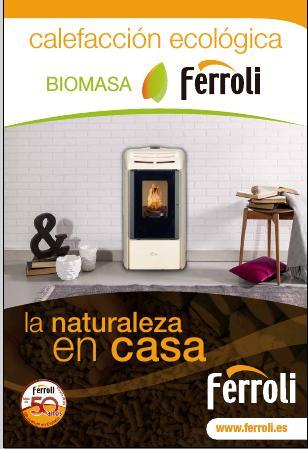 Catálogo Biomasa Doméstico Ferroli