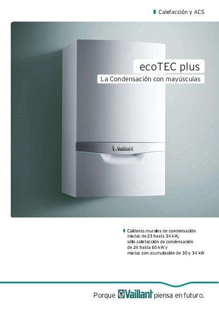 Manual vaillant ecotec plus sistema de aire acondicionado for Manual aire acondicionado