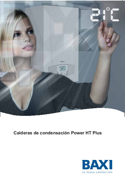 Catalogo Calderas Baxi POWER HT PLUS