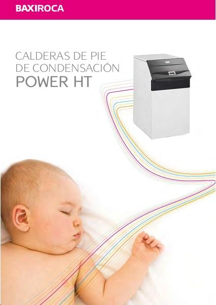 Catalogo Comercial Calderas Baxi POWER HT