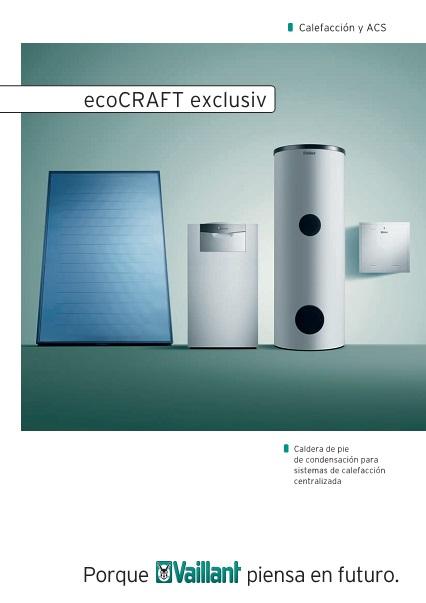 Catalogo comercial Caldera Vaillant ecoCRAFT EXCLUSIV