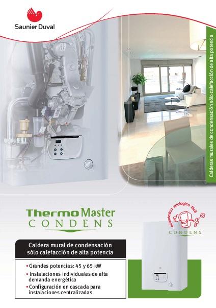 Catalogo comercial Calderas Thermomaster condens