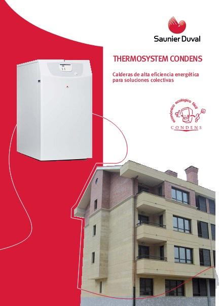 Catalogo comercial Calderas Thermosystem condens