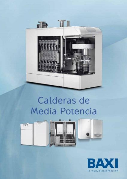 Catalogo comercial Calderas de media potencia Baxi