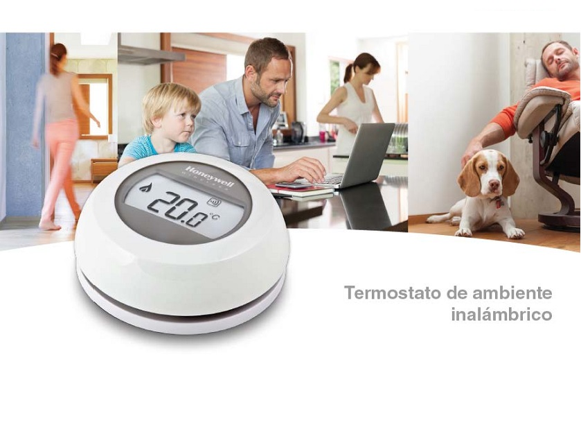 Catalogo comercial Termostato Honeywell ROUND CONNECTED Y87RF
