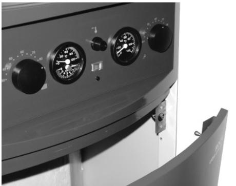 Cuadro de control - Caldera de gasóleo Baxi Lidia GTA EM Plus