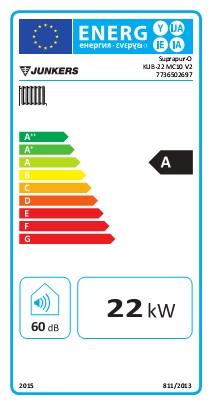 Ficha de producto caldera de condensación a gasóleo Suprapur-O