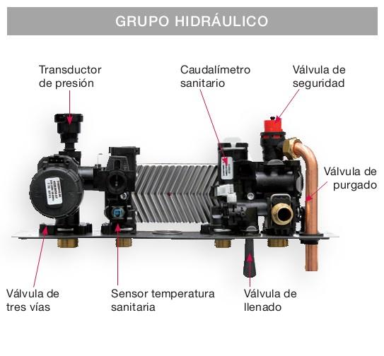 Grupo hidraulico Caldera Biasi RinNOVA COND