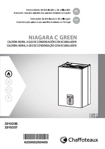 Instrucciones de instalación Caldera Chaffoteaux NIAGARA C GREEN
