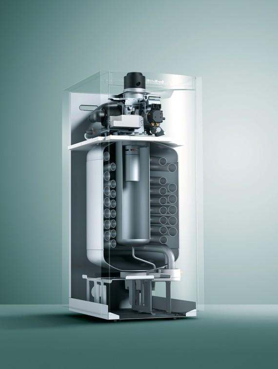 Interior - Caldera de condensación de gasóleo icoVIT exclusiv
