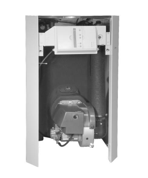 Interior - Caldera de pie a gasóleo Baxi LIDIA GT Confort Plus