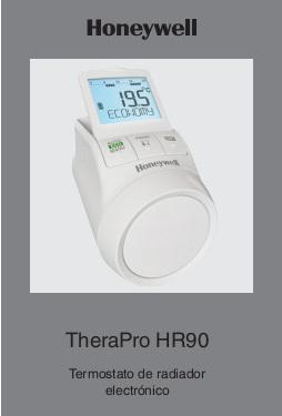 Manual de uso Controlador electrónico de radiador Honeywell HR90
