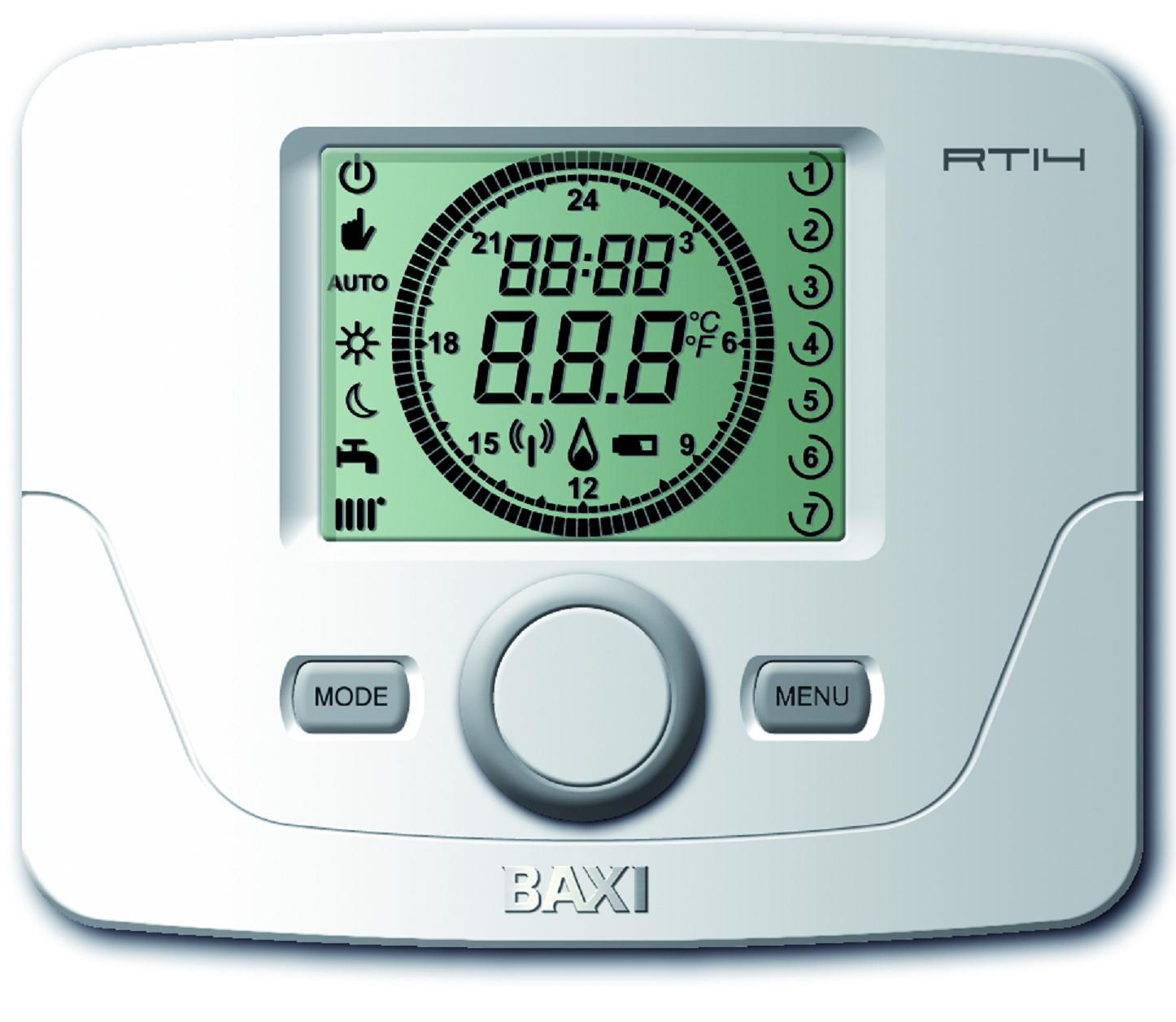 termostato modulante ambiente