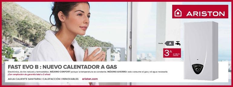 Banner Calentador Ariston Fast EVO B
