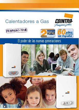 Calentadores solares calentadores a gas cointra - Calentadores a gas ...