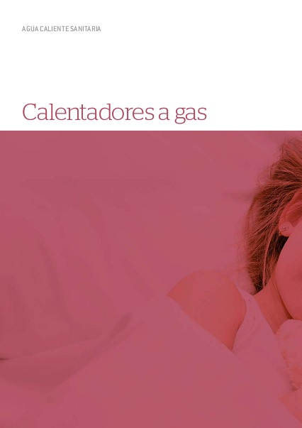 Catalogo Calentadores a gas Thermor