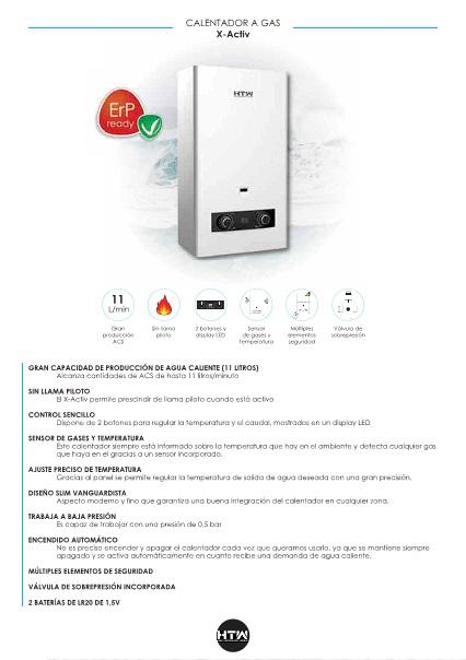 Ficha producto Calentador-HTW-Serie-X-ACTIVE