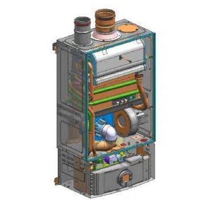 Interior Calentador Junkers Celsius Pur