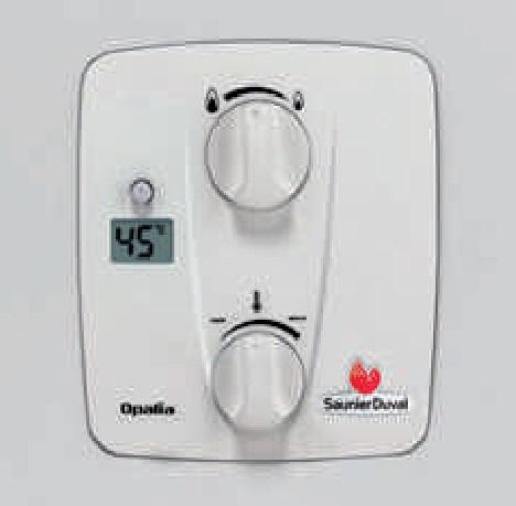 Panel Calentador Saunier Duval Opaliafast