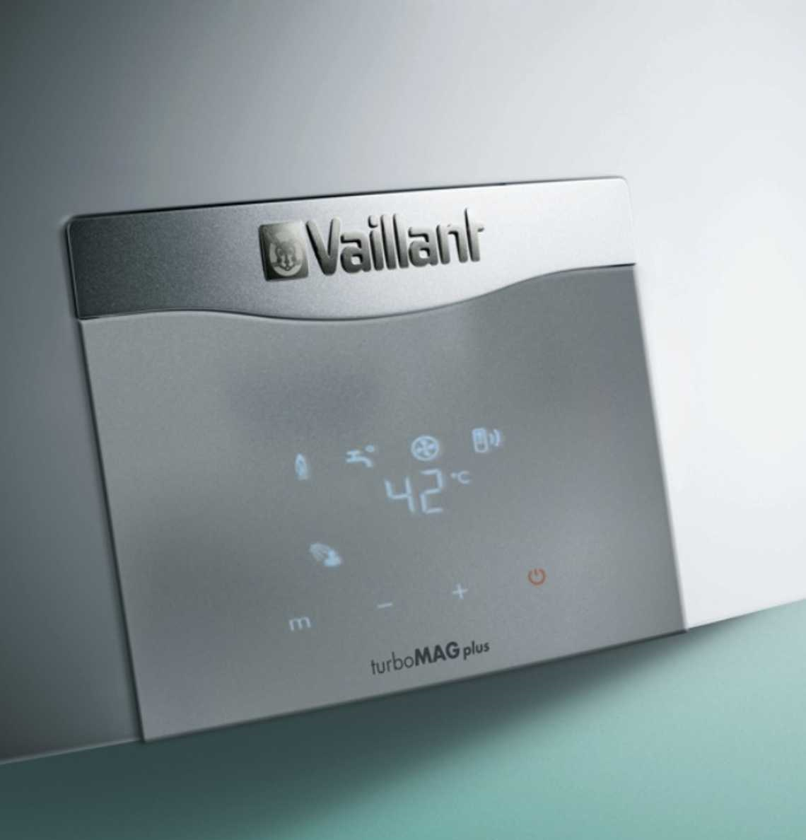 Panel de control digital - Calentador a gas Vaillant turboMAG plus
