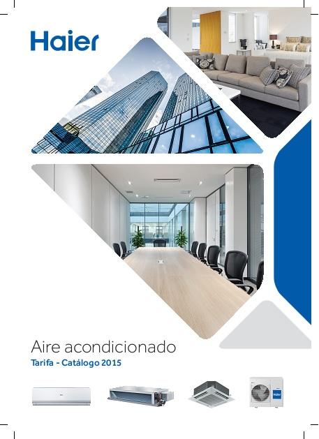 Catalogo tarifa Haier 2015