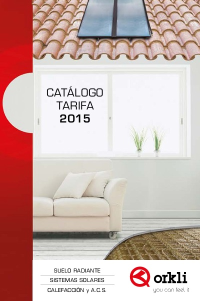 Catalogo tarifa Orkli 2015