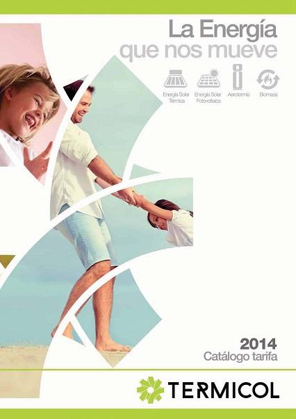 Catalogo tarifa Termicol 2014