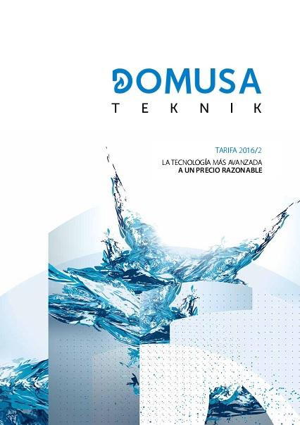 Tarifa Domusa 2016