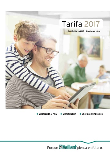 Tarifa Vaillant 2017 Mar